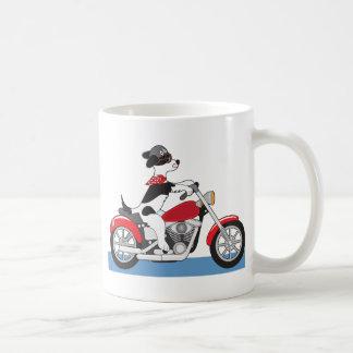 Caneca De Café Motocicleta do cão