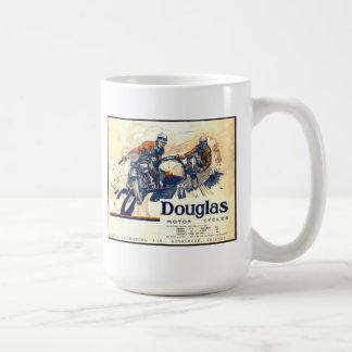 Caneca De Café Motocicletas do vintage de Douglas