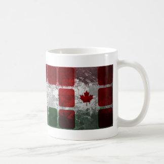 Caneca De Café Motriz canadenses húngaros com cubos