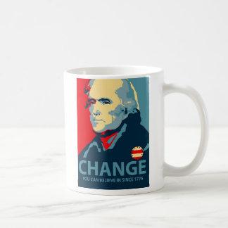 Caneca De Café Mudança de Thomas Jefferson