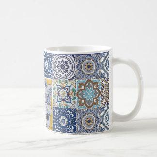 Caneca De Café mug azulejos ángel