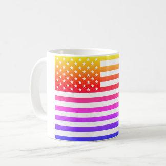 Caneca De Café Mug Bandeira EUA