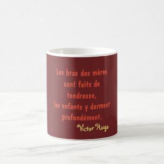 Caneca De Café mug citação Victor Hugo