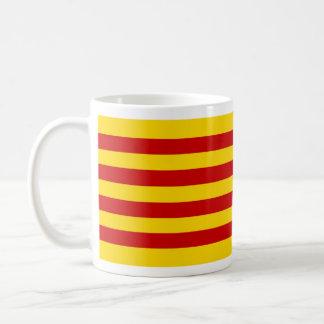 Caneca De Café mug compacta bandeira catalão