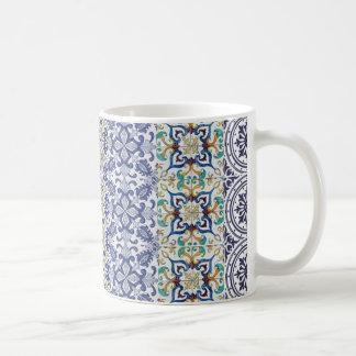 Caneca De Café mug déco azulejos