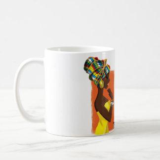 Caneca De Café Mug Illustré Girly