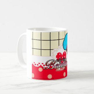 Caneca De Café Mug MyTinyBeauty CherryLin red