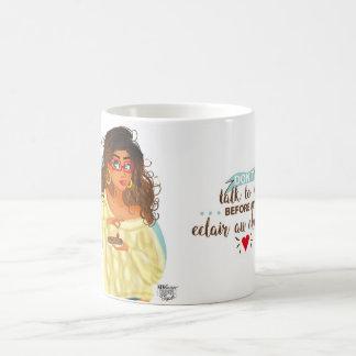 Caneca De Café Mug Periódico ilustrado Girly 6:37