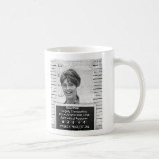 Caneca De Café Mugshot de Sarah Palin