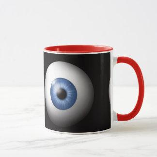 Caneca de café muito legal dos olhos