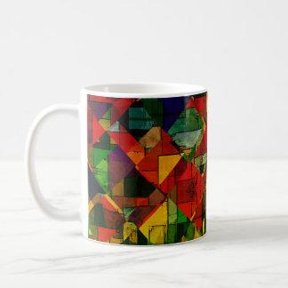 Caneca De Café Multi abstrato   nenhuns da cor 12