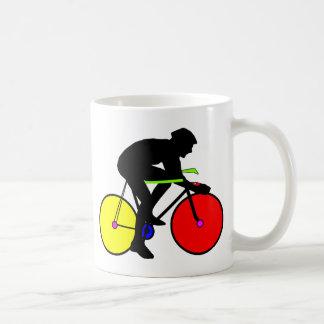 Caneca De Café Multi bicicleta colorida da bicicleta