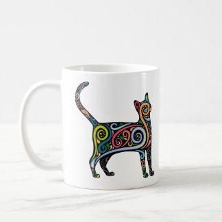 CANECA DE CAFÉ MULTI CAT DA COR