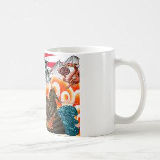 Caneca De Café mundo oriental