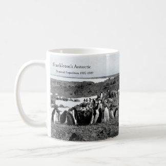 Caneca De Café Música do gramofone do Nimrod de Shackleton para