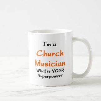 Caneca De Café músico da igreja