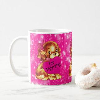 Caneca De Café Namorados do cão de filhote de cachorro para