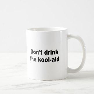 Caneca De Café Não beba o auxílio do kool