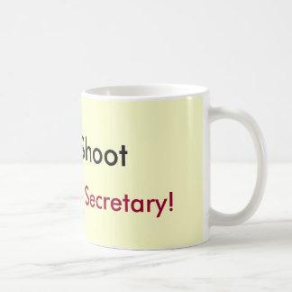 Caneca De Café Não dispare, mim são apenas o secretário!