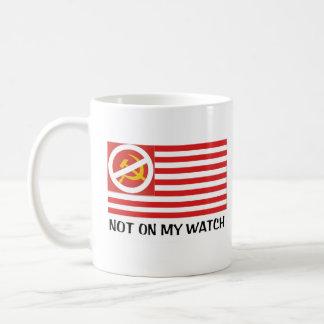 Caneca De Café Não em meu relógio