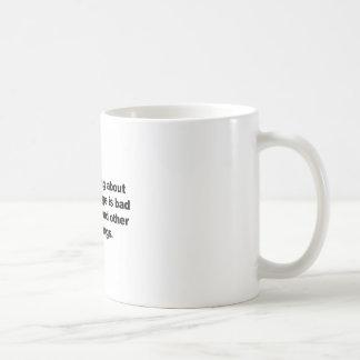 Caneca De Café Não fazendo nada sobre alterações climáticas