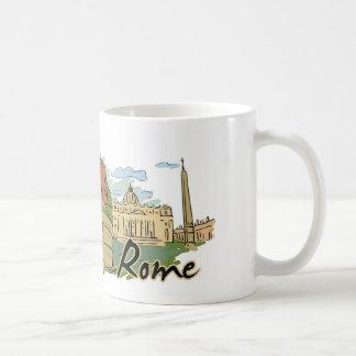 Caneca De Café Não foi construído em um dia (Roma)