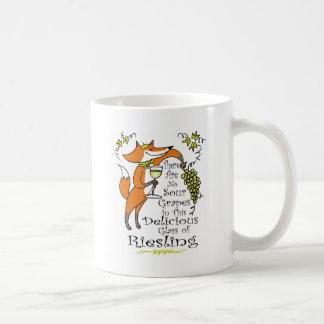 Caneca De Café Não há nenhuma uva ácida neste Riesling!