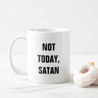 Caneca De Café Não hoje satã