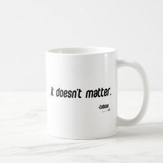 Caneca De Café Não importa