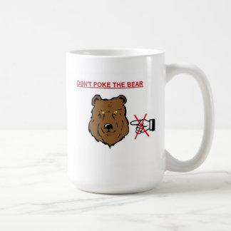 Caneca De Café Não pique o urso