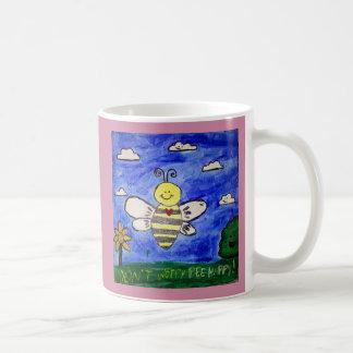 Caneca de café - não preocupe a ABELHA feliz!