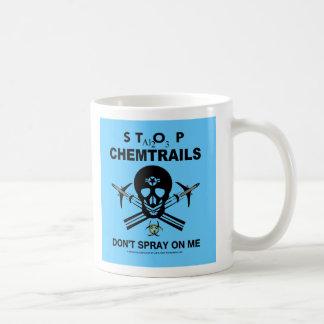 Caneca De Café Não pulverize em mim! - Chemtrails
