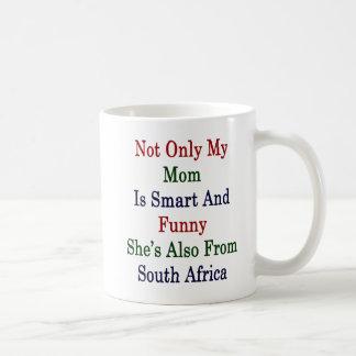 Caneca De Café Não somente minha mamã é esperta e engraçado é