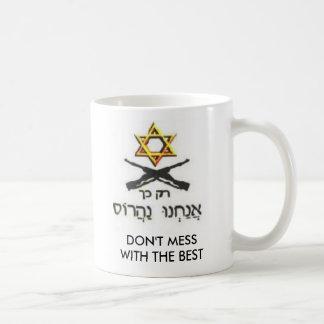 CANECA DE CAFÉ NÃO SUJE COM ISRAEL
