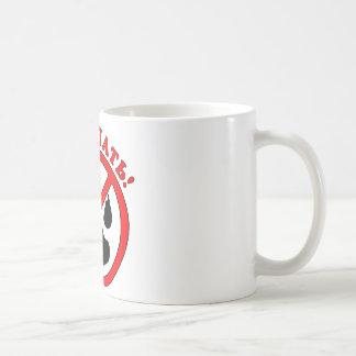 Caneca De Café Não toque! Língua de russo