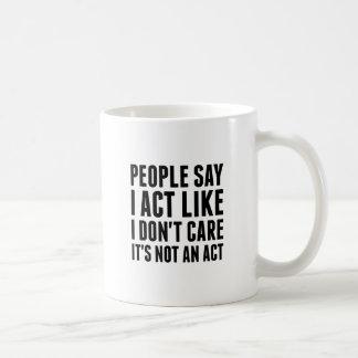 Caneca De Café Não um ato