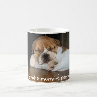 Caneca De Café Não uma pessoa da manhã!