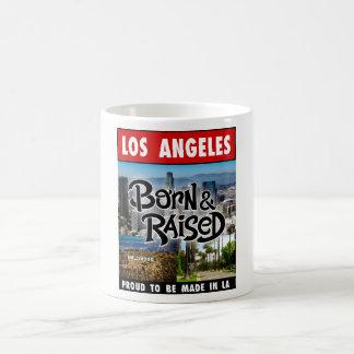 Caneca De Café Nascer de Los Angeles & aumentado