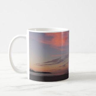 Caneca De Café Nascer do sol da praia de Higgins com as duas
