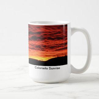 Caneca De Café Nascer do sol de Colorado