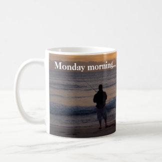 Caneca De Café Nascer do sol de segunda-feira