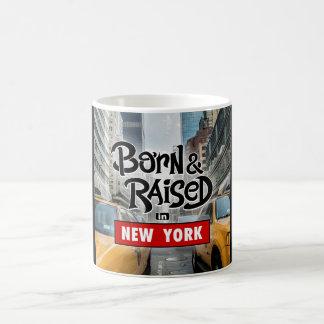 Caneca De Café Nascido & aumentado em New York