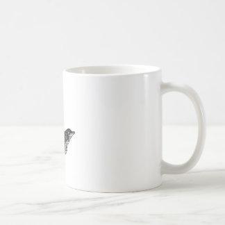 Caneca De Café Natação do golfinho