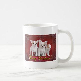 Caneca De Café Natal da chihuahua
