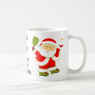 Caneca De Café Natal de Pickleball