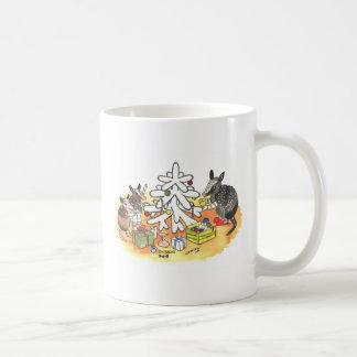 Caneca De Café Natal do tatu