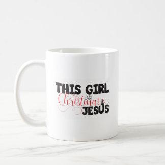 Caneca De Café Natal & Jesus