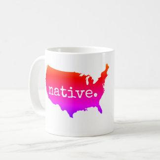 Caneca De Café nativo americano dos EUA