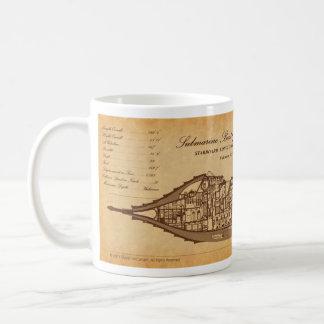Caneca De Café Nautilus SLS no pergaminho por David McCamant