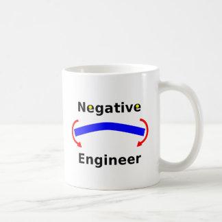 Caneca de café negativa do engenheiro